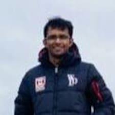 Perfil do utilizador de Anand