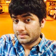 Ashish felhasználói profilja