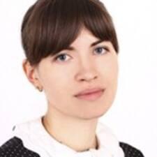 Yuliya felhasználói profilja