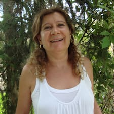 María is the host.