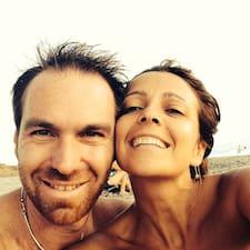 Användarprofil för Vanessa & Riccardo