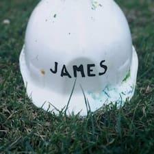 Perfil do usuário de James