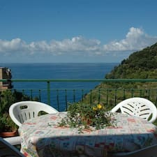 Casa Cicci Corniglia is the host.