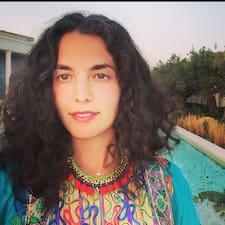Maridia felhasználói profilja