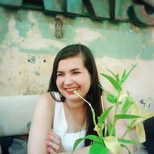 Ksenija is the host.