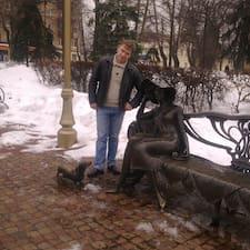 Oleg ist der Gastgeber.