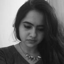 Perfil do usuário de Pooja
