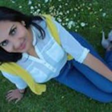 Amisha felhasználói profilja