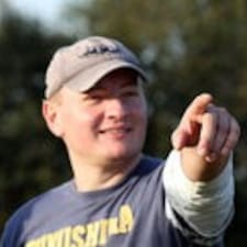 Michał is the host.
