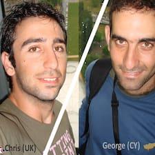โพรไฟล์ผู้ใช้ Chris/George