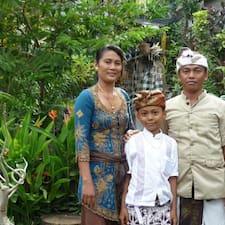 Wayan With Family ist der Gastgeber.