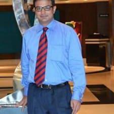 Sidharth felhasználói profilja