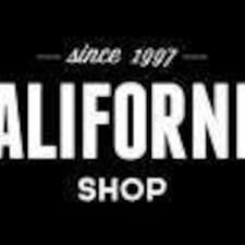Mariano-California Shop User Profile