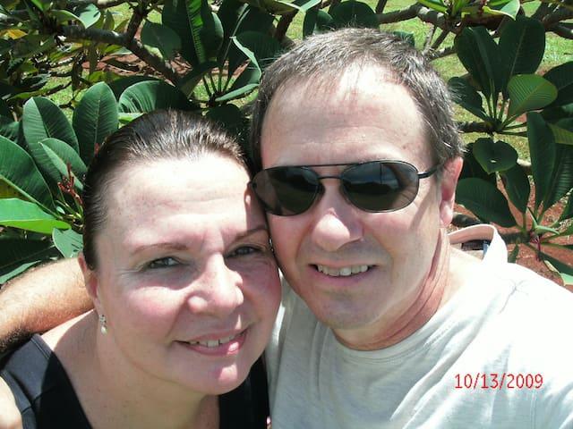 Andrew & Deb