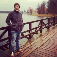 Stefano felhasználói profilja