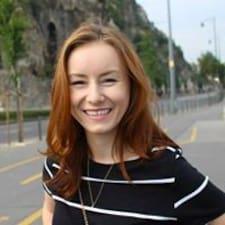 Ania felhasználói profilja