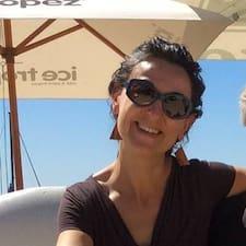 Sabina felhasználói profilja
