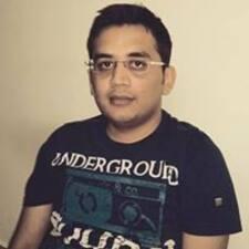 Perfil do utilizador de Rahul