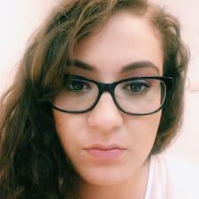 Simona felhasználói profilja