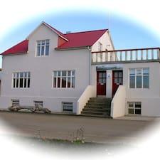 Guðfinna M.是房东。