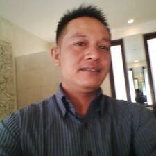 Wayan ist der Gastgeber.