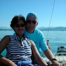 Maha & Stefan felhasználói profilja