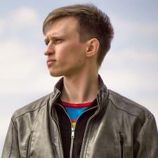 Perfil do usuário de Maksim