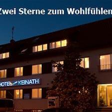 Hotel Garni Keinath — хозяин.
