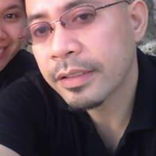 Crisanto felhasználói profilja