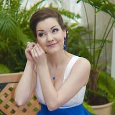 Ksenya felhasználói profilja