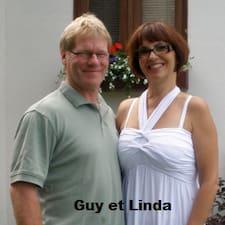 Linda Et Mon Conjoint Guy est l'hôte.