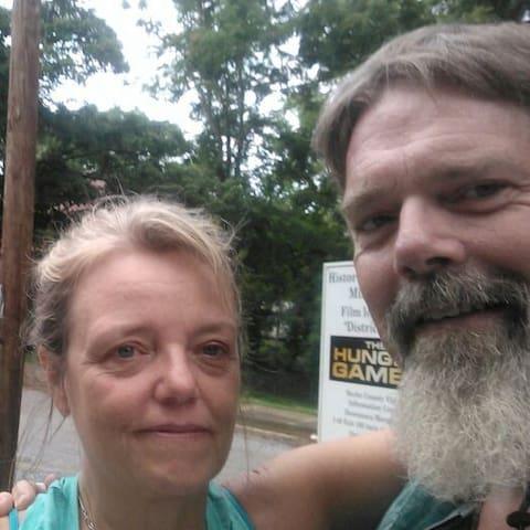 Wayne With Partner Carol