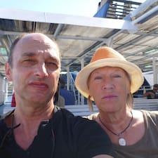 Henkilön Jean-François Et Geneviève käyttäjäprofiili