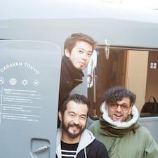 Caravan Tokyo的用戶個人資料