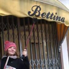 Perfil do utilizador de Bettina