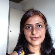 Användarprofil för Srishti