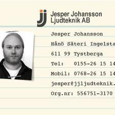 โพรไฟล์ผู้ใช้ Jesper