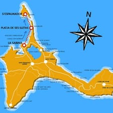 Formentera est l'hôte.