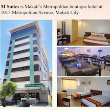 M Suites Hotel User Profile