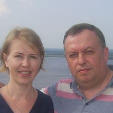 Andrey & Liudmila is the host.