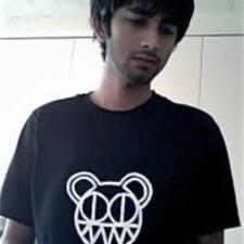 Pradyot felhasználói profilja