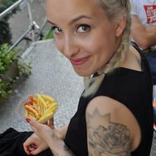 Anna Lena felhasználói profilja
