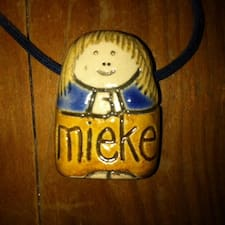 Perfil do utilizador de Mieke