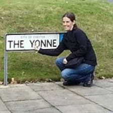 Perfil do usuário de Yvonne