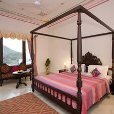 Devraj Villa is the host.