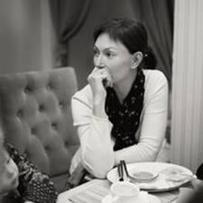 Irina is the host.
