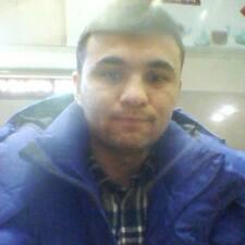 Shokhrukh felhasználói profilja