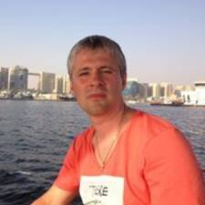 Användarprofil för Vadim