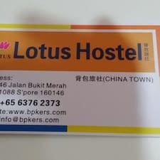 Lotus je domaćin.