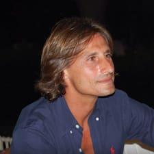 Francesco is the host.